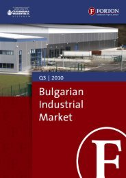 Bulgarian Industrial Market – Q3, 2010.pdf - Forton
