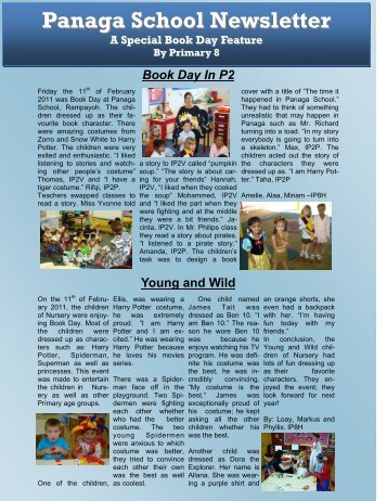Download Newsletter February 2011 Issue 22 - Panaga School