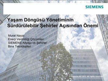 Z. Murat NAYAL, Siemens - ICCI
