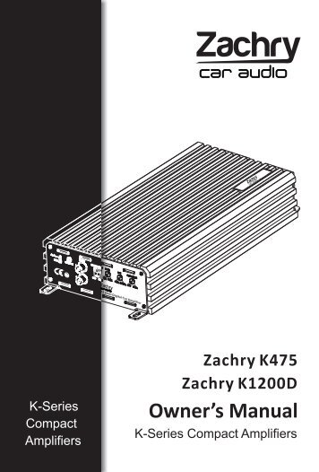 K475 K1200D说明书.cdr - Ljudia