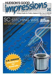 (NC) - Coloured Stitching Wire - AE Hudson