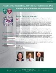 Winter 2011 Newsletter - McLean Hospital - Harvard University