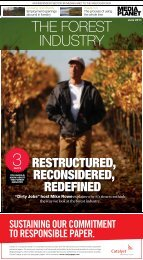 Forest Industry - Forest Products Association of Canada
