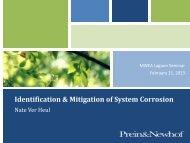 Identification & Mitigation of System Corrosion