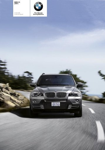 The BMW X5 3.0sd (2007) - Vines