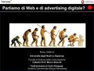 Diapositiva 1 - Dipartimento di Comunicazione e Ricerca Sociale ...