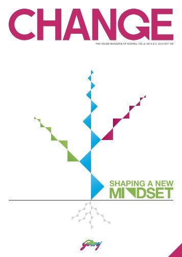 A new desirable mindset can be developed by opening the ... - Godrej