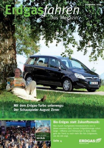 Das Magazin - September 2009 - Erdgas Mobil