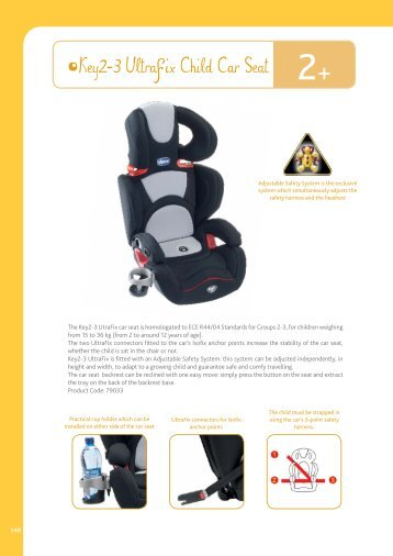 Key2-3 Ultrafix Child Car Seat - Chicco