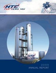 2009 Annual Report - HTC Purenergy