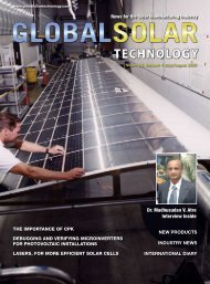 download the PDF - Global Solar Technology