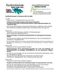 elektronik - Fachhochschule Oldenburg/Ostfriesland/Wilhelmshaven