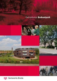 Gebiedsvisie Brabantpark - Gemeente Breda