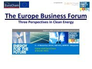 The Europe Business Forum - Solar Panels Singapore