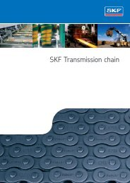 SKF Transmission Chain Catalogue - Waikato Bearings