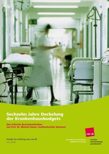 Sechzehn Jahre Deckelung der Krankenhausbudgets