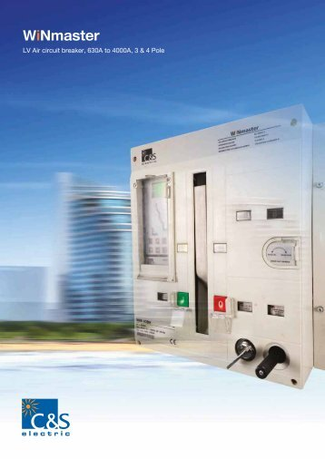 Air Circuit Breakers-WiNmaster - C&S Electric Limited