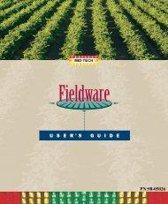 Fieldware Suite 3.0 User Guide - TeeJet