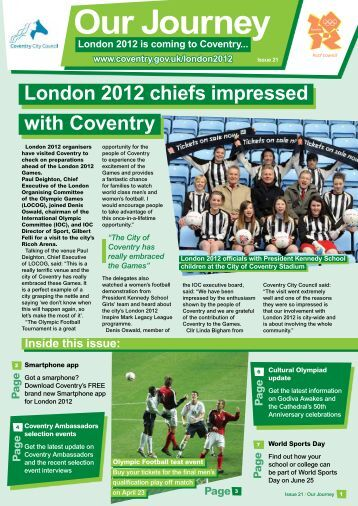 Edition 21 - Coventry 2012