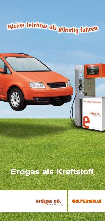 Erdgas als Kraftstoff - Erdgasautos