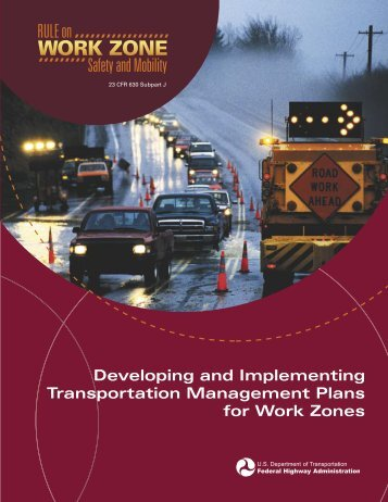 Developing and Implementing Transportation Management Plans ...