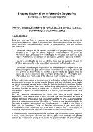 Sistema Nacional de Informação Geográfica - Instituto Geográfico ...