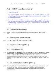 76. § 6 VOB/A - Angebotsverfahren - Oeffentliche Auftraege