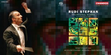 RUDI STEPHAN - Chandos