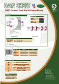 GN83 Powder Free Nitrile Exam Gloves - Dencor - Page 2