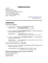 CV (V. ravi)