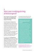 Meldingsplichtige arbeidsongevallen. Meld ze bij de Inspectie SZW - Page 5
