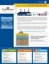 Cyberoam CR35wi Datasheet