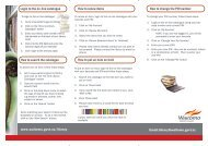 Using Waitomo District Library From Home Brochure