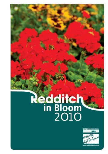 in Bloom - Redditch Borough Council