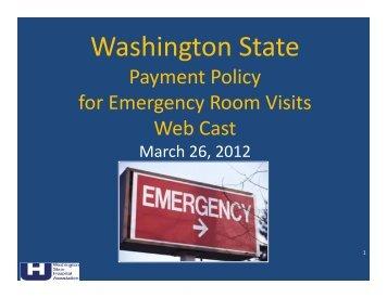 Download Slides - Washington State Hospital Association