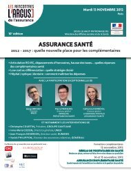 PAP-Conf ASSURANCE SANTE.indd - Eurogroup Consulting