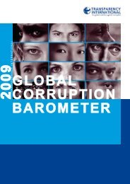 GLOBAL CORRUPTION BAROMETER - Asialink