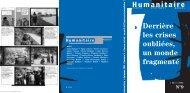 Revue Humanitaire n°9 - Médecins du Monde
