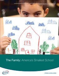 The Family: America's Smallest School (PDF) - ETS