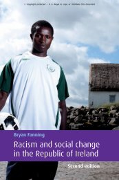 Racism and social change in the Republic of Ireland - Holocaust ...