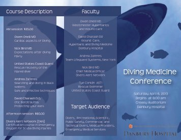 Diving Medicine Conference - The Ocean Wreck Divers of New Jersey