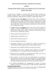 REVISTA DO CEPEJ - ANEXO I - NORMAS ABNT