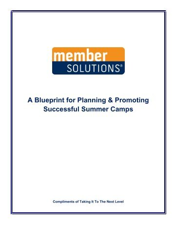 Blueprint oms v11 blueprint solutions a blueprint for planning promoting successful member solutions malvernweather Image collections