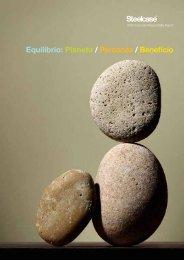 Equilibrio: Planeta / Personas / Beneficio - Steelcase
