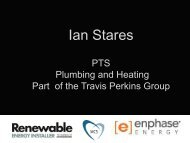 Ian Stares - Renewable Energy Installer