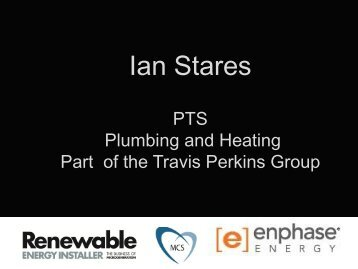 Ian Stares - Renewable Energy Installer