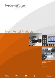 New Rental Products