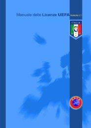 Manuale delle Licenze UEFA - Federazione Italiana Giuoco Calcio