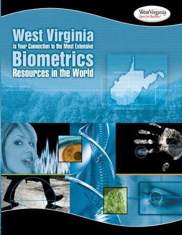 Biometrics Brochure - West Virginia Department of Commerce