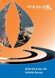 The 2010 Oil & Gas UK Activity Survey